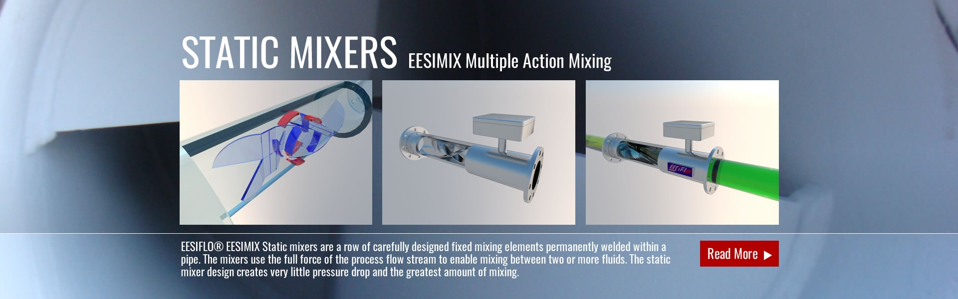 STATIC MIXER EESIMIX Multiple Action Mixing